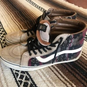 Vans Aztec Hi Tops Shoes Mens size 11